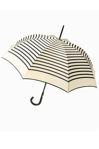 rain gear- cute rain Jean Paul Gaultier umbrella zebra stripes
