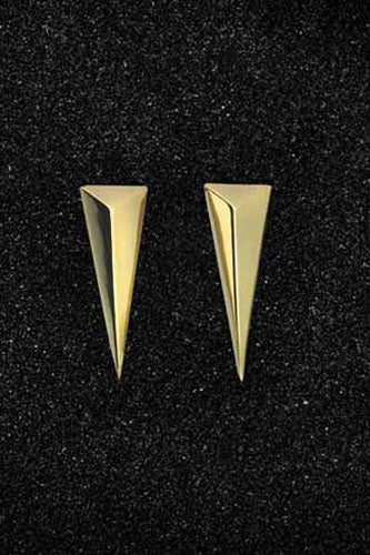 Small-Solid-Pyramid-Earrings