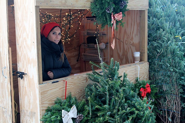 Christmas Joins The Locavore Movement Thanks To NYC Trees