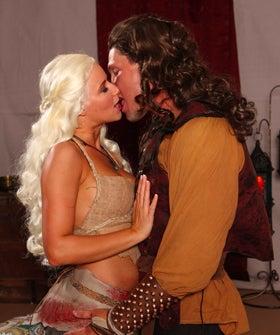 Brandi Love in This aint Game of Thrones Parody 1 of 2