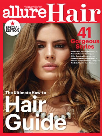 Allure Launches Special Hair Issue; Our Locks Rejoice