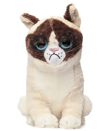 Grumpy Cat Stuffed Animals — Spread The Disapproval This Holiday Season