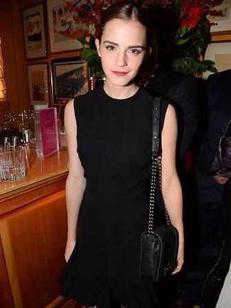 Emma Watson Heads Back To School — Again