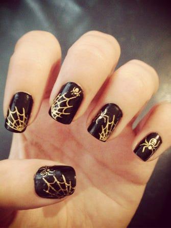 Halloween Nail Art Designs - Cute Ideas On Instagram