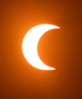 Partial Solar Eclipse Will Make Tomorrow's Sunrise Extra Awesome