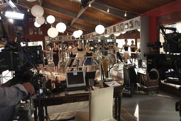bunheads-on-set