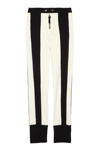 Marni Contrast-Stripe Gabardine Pants