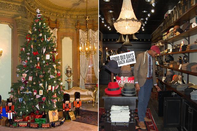 photos courtesy of heurich house and goorin bros - Christmas Market Dc