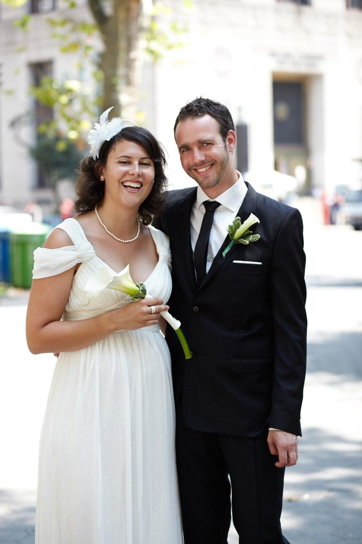 Meet Catherine and Pierre, who met through friends ten years ago.