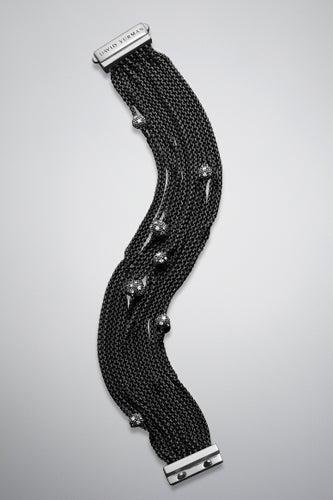 David Yurman Midnight Melange Bracelet with Pave Diamonds