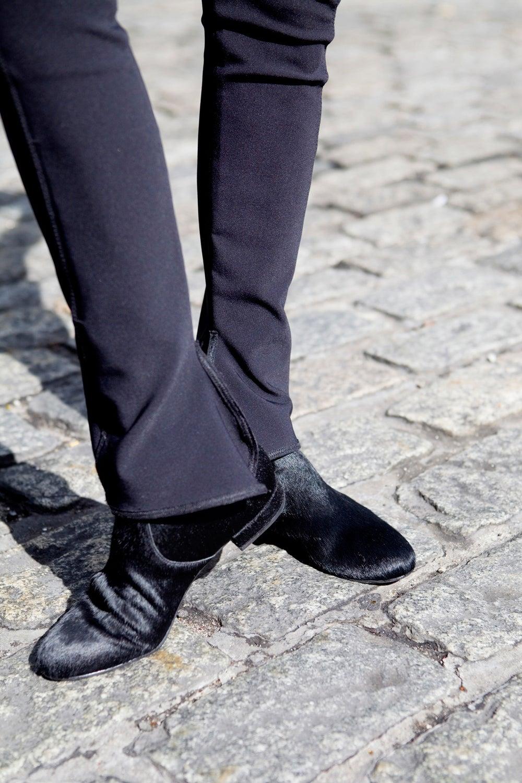 Joe Fresh faux fur boots.