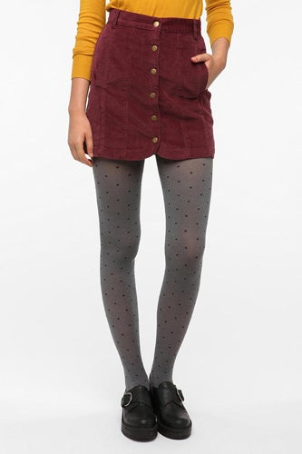Cooperative Corduroy Snap Front Skirt