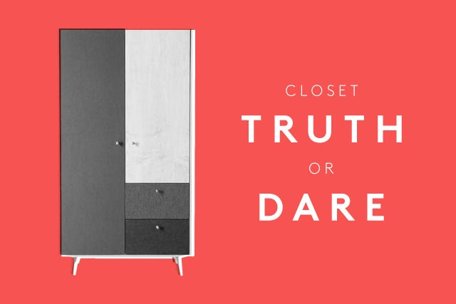 Truth Or Dare Closet Game - Spring-Cleaning Tips