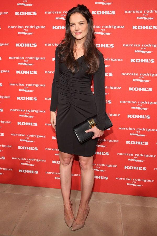 Katie Holmes Wears A 70 Kohl S Dress