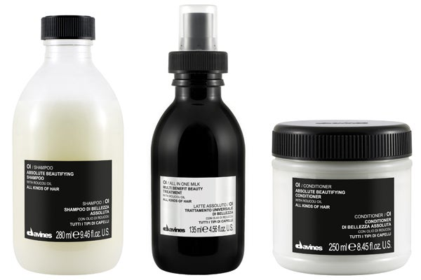 Davines Oi Shampoo, Conditioner, All-in-One Milk