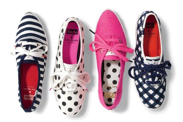6ed6b41870ac5 Kate Spade Keds- Polka Dot Ked Sneakers