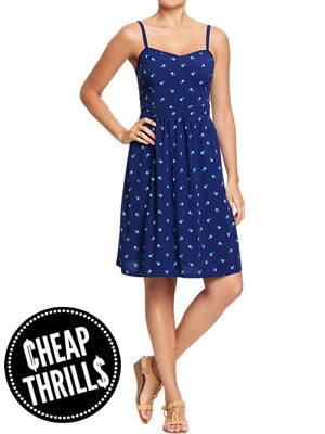 767b2c23815 ... rely on multi-tasking pieces that can work in any number of style  scenarios — which is why we knew right away that this sweet summer dress  from Old Navy ...