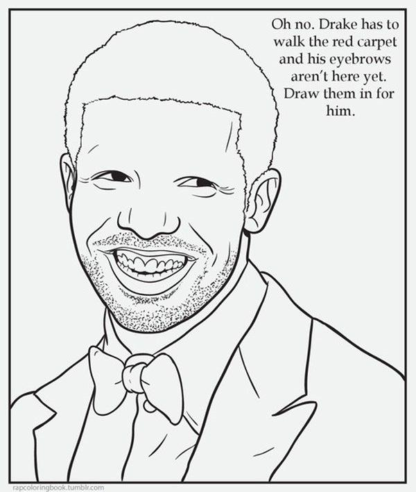 Rap Coloring Book - Funny Tumblrs
