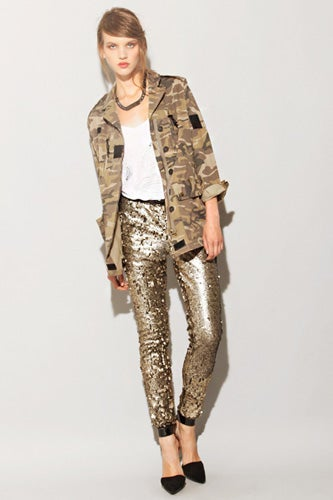 Arynk Gilded Sequin Pant