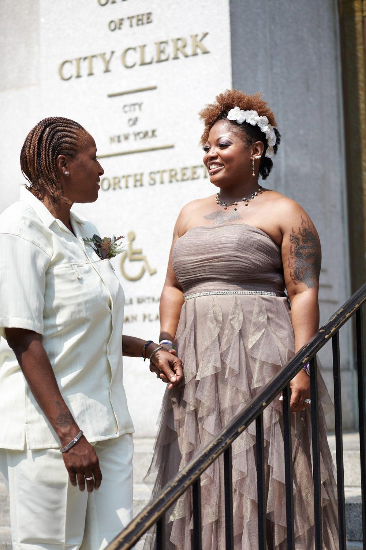 Latoya Battle and Karen Harrington met in school.