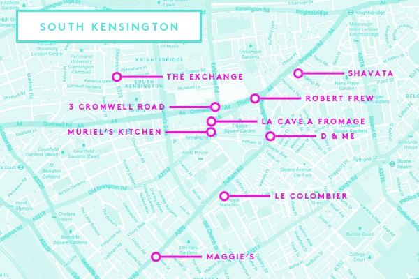 South Kensington London Map.South Kensington London Guide To Sw7 2013