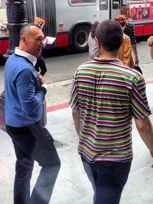 Joe Zee Filming In San Francisco