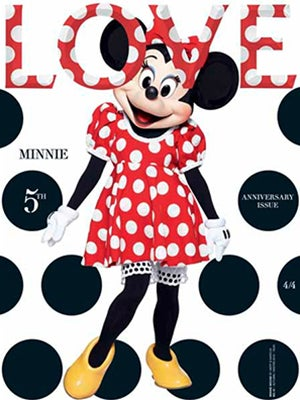 Minnie Mouse Love Magazine Cover
